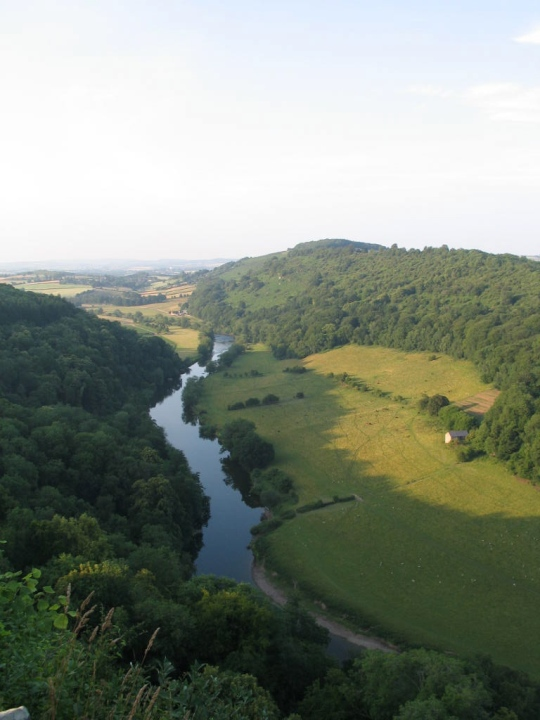 The ever popular view point at Symonds Yat, overlooking the Wye